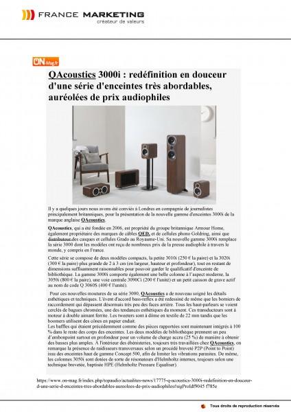 Q ACOUSTICS - Q3000i - On-TopAudio