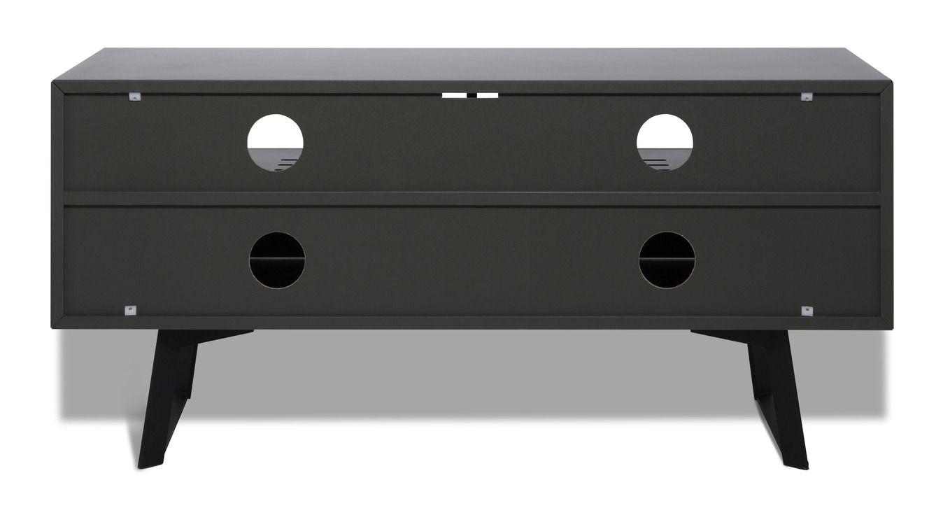france marketing meubles carbon meuble tv 1m20 verre. Black Bedroom Furniture Sets. Home Design Ideas