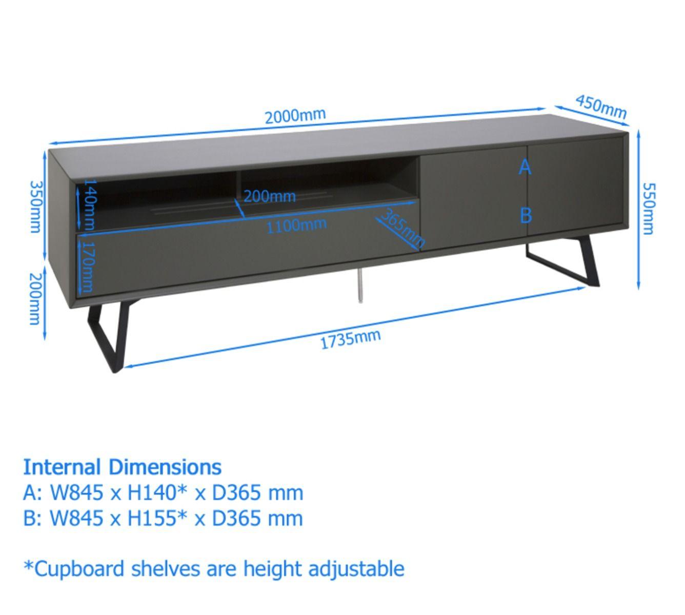 France marketing meubles carbon meuble tv 2m00 pied for Meuble tv 2 m