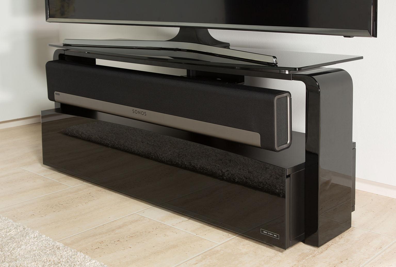 Meuble Tv Avec Barre De Son france marketing - meubles - supports sonos - aps-as9001