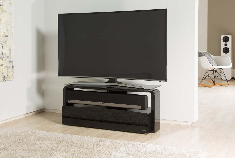 France Marketing Meubles Supports Sonos Aps As9001 Sonos Playbar # Meuble Tv Avec Barre De Son Integree