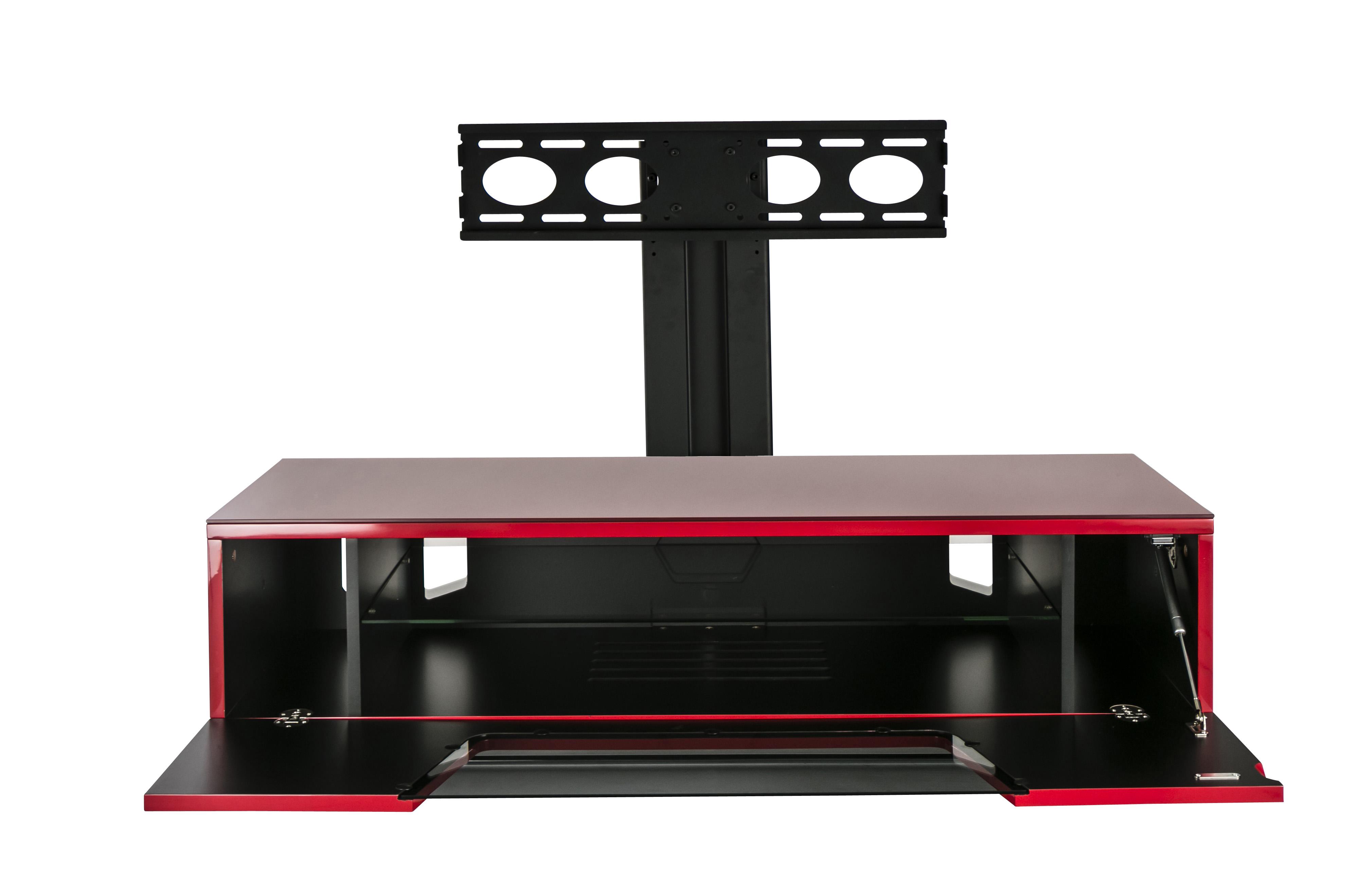 france marketing meuble tv chromium 1200mm avec potence. Black Bedroom Furniture Sets. Home Design Ideas